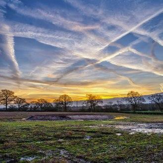 Smallfield sunrise