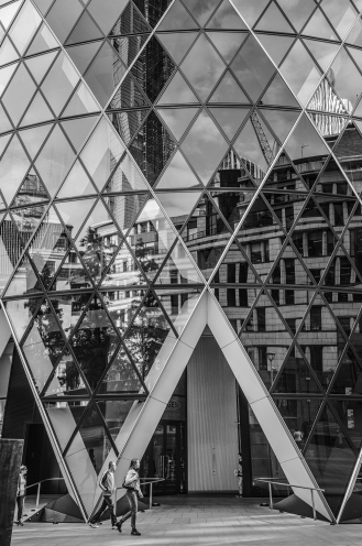 Walk by the Gherkin